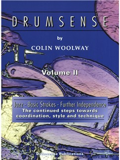 Colin Woolway: Drumsense Volume 2 (3rd Edition) Books and CDs | Drums