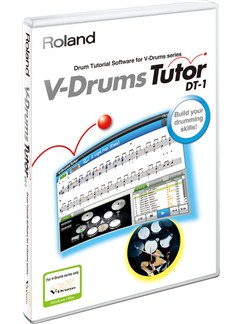 Roland: DT-1 V Drums Tutor Software Windows & Mac CD-Roms / DVD-Roms | Drums
