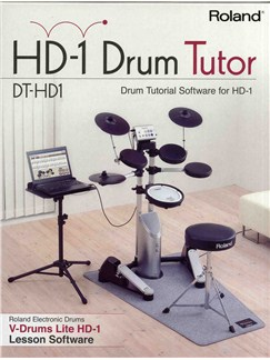 Roland: HD-1 Drum Tutor CD-Roms / DVD-Roms | Drums