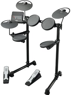 Yamaha: DTX400K Electronic Drum Kit Instruments | Drums