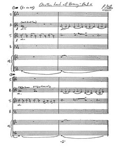 Philip Glass Another Look At Harmony SATB (Organ) Books | Organ, SATB