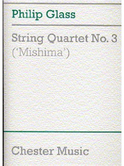 Philip Glass: String Quartet No. 3 (Mishima) Score Books | String Quartet
