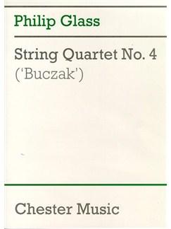 Philip Glass: String Quartet No.4 'Buczak' (Score) Books | String Quartet