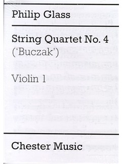 Philip Glass: String Quartet No.4 'Buczak' (Parts) Books | String Quartet