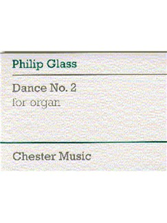 Philip Glass: Dance No. 2 For Organ Books | Organ