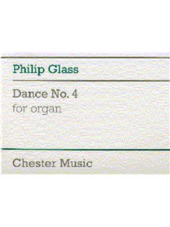Philip Glass: Dance No. 4 For Organ Books | Organ