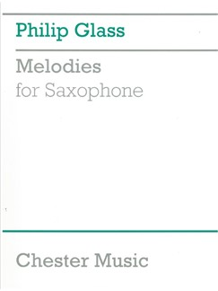 Philip Glass: Melodies For Saxophone Books | Saxophone