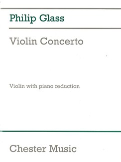 Philip Glass: Violin Concerto Books | Violin, Piano Accompaniment