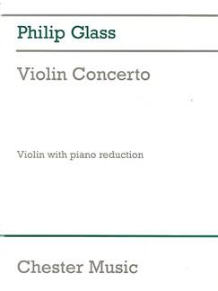 Philip Glass: Violin Concerto Livre | Violon, Accompagnement Piano