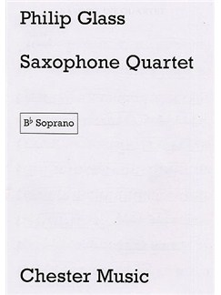 Philip Glass: Saxophone Quartet (Parts) Livre | Saxophone (Quatuor)