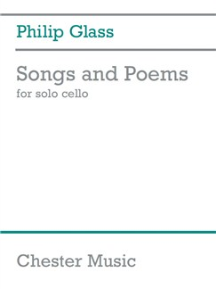 Philip Glass: Songs And Poems For Solo Cello Books | Cello