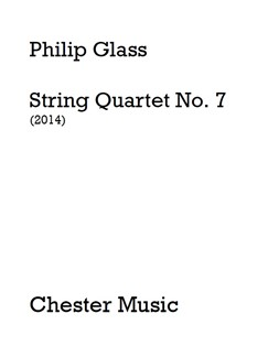 Philip Glass: String Quartet No. 7 (Score) Books | String Quartet