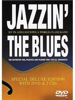 Jazzin' The Blues: Deluxe Edition DVD And 2 CDs CD et DVDs / Videos | Guitare