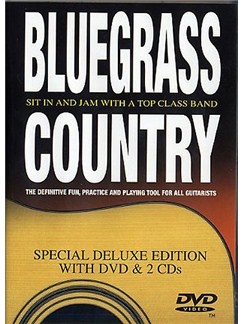 Bluegrass Country: Deluxe Edition DVD And 2 CDs CD et DVDs / Videos | Guitare