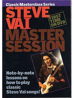 Master Session: Steve Vai DVDs / Videos | Guitar