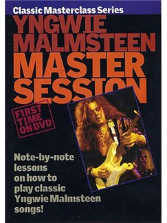 Master Session: Yngwie Malmsteen DVDs / Videos   Guitar