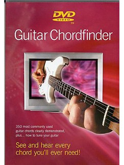 Guitar Chordfinder (Electric) DVDs / Videos | Guitar (with Chord Symbols)