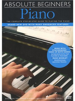 Absolute Beginners: Piano (DVD) DVDs / Videos | Piano, Teclado