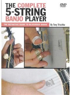 Tony Trischka: The Complete 5-String Banjo Player (DVD) DVDs / Videos | Banjo