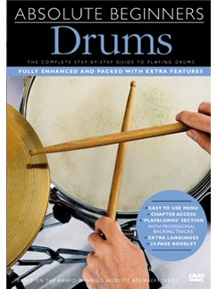 Absolute Beginners: Drums (With Subtitles) DVDs / Videos | Drums