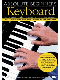 Absolute Beginners: Keyboard (With Subtitles) DVDs / Videos | Keyboard