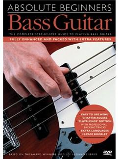 Absolute Beginners: Bass Guitar (With Subtitles) DVDs / Videos | Bass Guitar