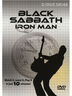 10-Minute Teacher: Black Sabbath - Iron Man DVDs / Videos | Guitar