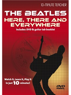 10-Minute Teacher: The Beatles - Here There & Everywhere DVDs / Videos | Guitar