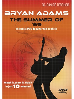 10-Minute Teacher: Bryan Adams - The Summer Of '69 DVDs / Videos | Guitar