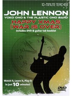 10-Minute Teacher: John Lennon/Yoko Ono - Happy Xmas (War Is Over) DVDs / Videos | Guitarra, Acorde de Guitarra