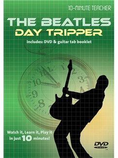 10-Minute Teacher: The Beatles - Day Tripper DVDs / Videos | Guitar, Guitar Tab