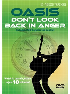 10-Minute Teacher: Oasis - Don't Look Back In Anger DVDs / Videos | Guitar, Guitar Tab