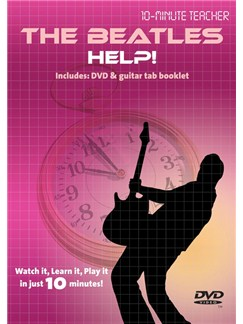 10-Minute Teacher: The Beatles - Help! DVDs / Videos | Guitar, Guitar Tab