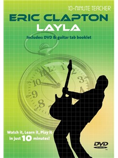 10-Minute Teacher: Eric Clapton - Layla DVDs / Videos | Guitar, Guitar Tab