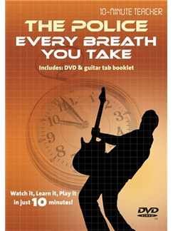 10-Minute Teacher: The Police - Every Breath You Take DVDs / Videos | Guitar, Guitar Tab