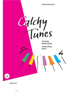 Friedrich Grossnick: Catchy Tunes - 18 Easy Piano Pieces Books | Piano