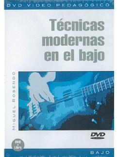 Tecnicas Modernas en el Bajo DVDs / Videos | Bass Guitar