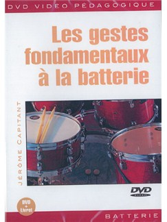 Gestes Fondamentaux a la Batterie (Les) DVDs / Videos | Drums