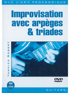 Improvisation Avec Arpèges & Triades DVDs / Videos | Guitar