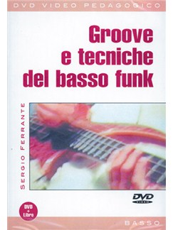 Groove e Tecniche del Basso Funk DVDs / Videos   Bass Guitar
