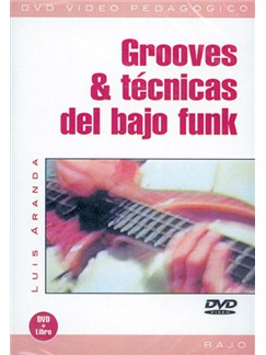 Grooves & Técnicas del Bajo Funk DVDs / Videos | Bass Guitar