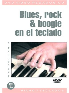 Blues, Rock & Boogie en el Teclado DVDs / Videos | Keyboard
