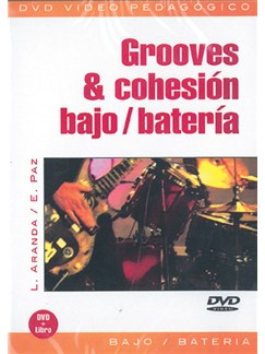Grooves & Cohesión Bajo - Batería DVDs / Videos | Bass Guitar, Percussion