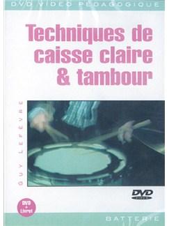 Techniques de Caisse Claire & Tambour DVDs / Videos | Drums