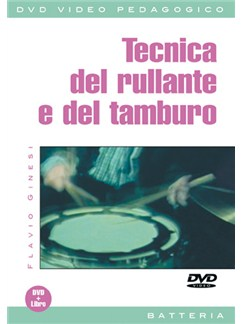 Tecnica del Rullante e Del Tamburo DVDs / Videos | Drums