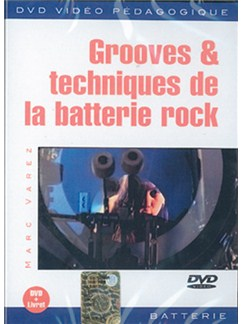 Grooves & Techniques de la Batterie Rock DVDs / Videos | Drums