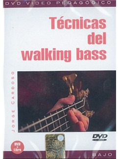 Técnicas Del Walking Bass DVDs / Videos | Bass Guitar