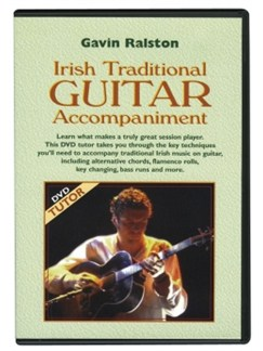 Gavin Ralston: Irish Traditional Guitar Accompaniment DVDs / Videos | Guitar