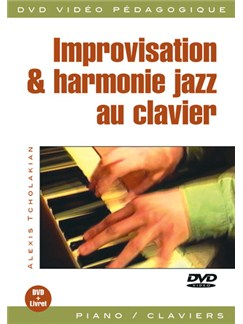 Improvisation & Harmonie Jazz Au Clavier DVDs / Videos | Piano