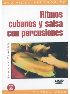 Ritmos Cubanos y Salsa Con Percusiones DVDs / Videos | Percussion